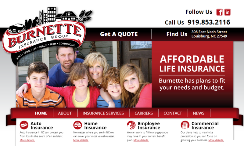 Burnette Insurance Group, Services